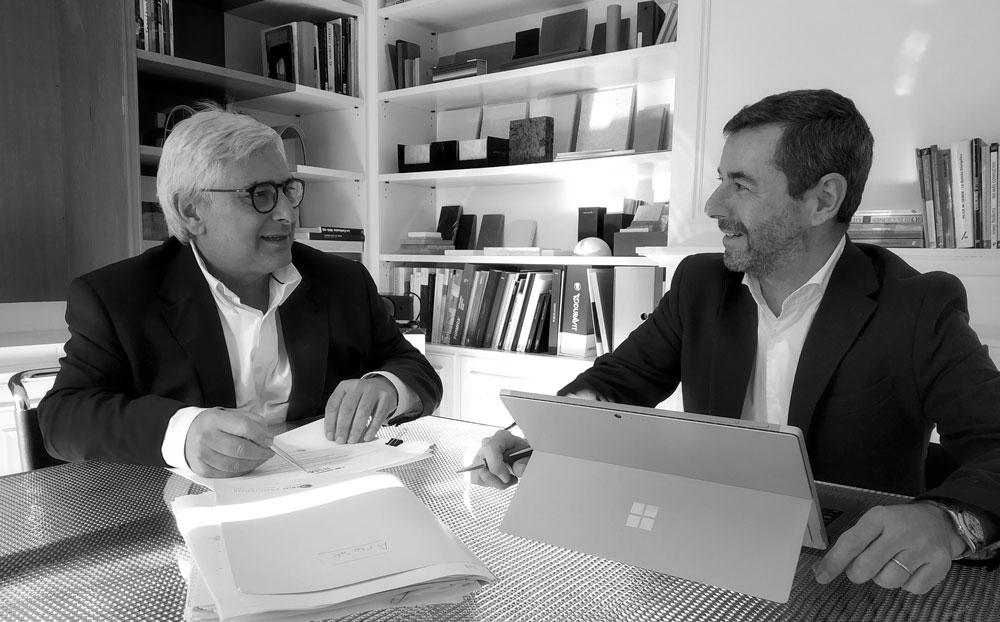 José Mª Carbó y Paco Ramos - Socios Sarrió Asociados